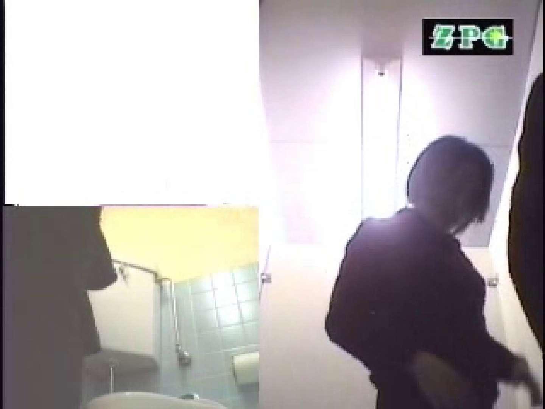 女子洗面所 便器に向かって放尿始めーっ AHSD-3 チラ   排泄  38pic 13